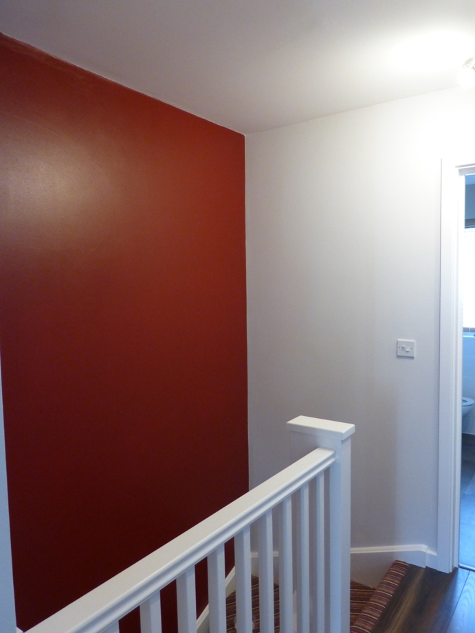 Burgandy Red Wall 01